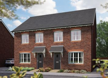 "Thumbnail 3 bed town house for sale in ""The Cranham"" at Weights Lane Business Park, Weights Lane, Redditch"
