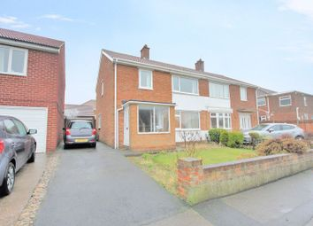 Thumbnail 3 bed semi-detached house for sale in Priestcrofts, Marske-By-The-Sea, Redcar