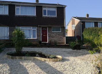 Thumbnail 3 bed semi-detached house for sale in Barry Close, Weston-Super-Mare