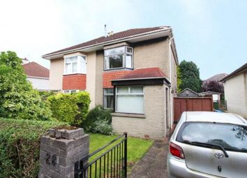 Thumbnail 2 bed semi-detached house for sale in Bakewell Road, Garrowhill, Glasgow, Lanarkshire