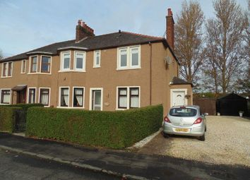 Thumbnail 3 bed flat for sale in Braedale Avenue, Motherwell