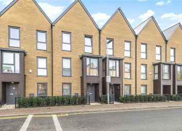 Thumbnail 4 bed town house for sale in Churchill Road, Uxbridge, Middlesex