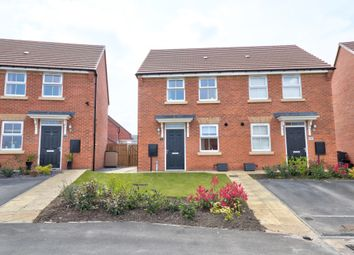 Thumbnail 2 bedroom semi-detached house for sale in Pastures Close, Barlby, Selby