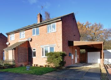 Thumbnail 3 bed semi-detached house for sale in Redmires Close, Loughborough, Leicestershire