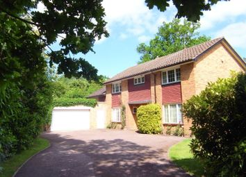 Thumbnail 5 bed detached house to rent in Parvis Road, West Byfleet