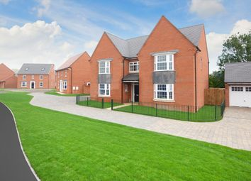 "Thumbnail 5 bedroom detached house for sale in ""Evesham"" at Station Road, Langford, Biggleswade"