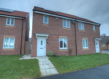 Thumbnail 3 bed semi-detached house to rent in Brookville Crescent, Newcastle Upon Tyne
