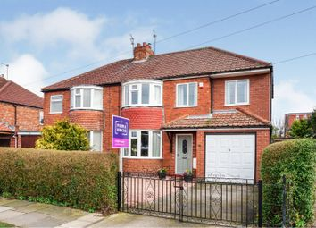 Thumbnail 4 bed semi-detached house for sale in Whernside Avenue, York