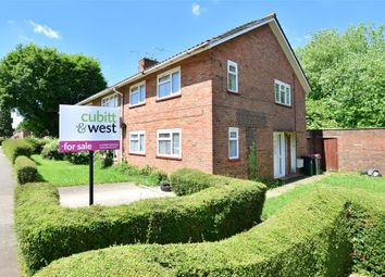 Thumbnail 2 bed maisonette for sale in Martyrs Avenue, Langley Green, Crawley, West Sussex
