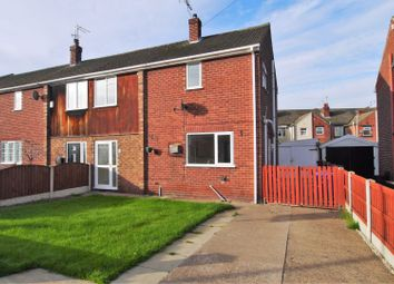 Thumbnail 3 bed semi-detached house for sale in Mayfield Crescent, Askern, Doncaster