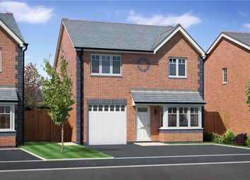 Thumbnail 4 bed detached house for sale in Plot 5, Badgers Fields, Arddleen, Llanymynech, Powys
