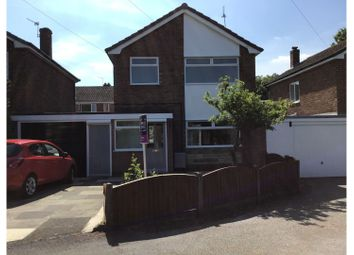 3 bed detached house for sale in Lodge Road, Knutsford WA16