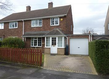 Thumbnail 3 bed semi-detached house for sale in Newbury Avenue, Great Coates, Grimsby