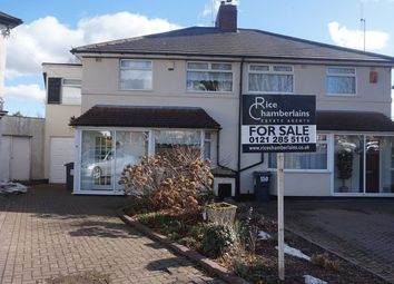 Thumbnail 3 bed semi-detached house for sale in Middlemore Road, Northfield, Birmingham