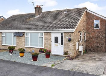 Thumbnail 2 bedroom semi-detached bungalow for sale in Cedar Close, Thorpe Willoughby, Selby