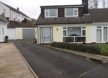 Thumbnail 3 bed semi-detached house for sale in St. Johns Drive, Ton Pentre, Pentre, Rhondda, Cynon, Taff.