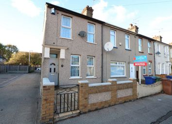 Thumbnail 3 bedroom end terrace house for sale in Bermuda Road, Tilbury
