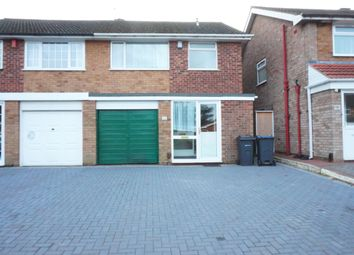 Thumbnail 3 bed semi-detached house to rent in High Trees, Handsworth Wood, Birmingham