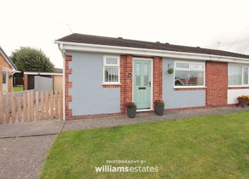 Thumbnail 2 bed semi-detached bungalow for sale in Carlton Way, Rhyl