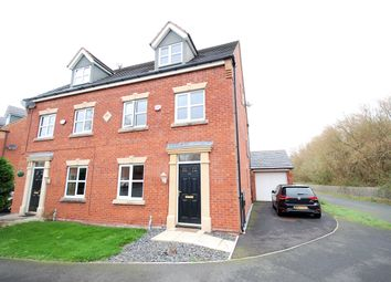 Thumbnail 3 bed town house for sale in Swift Close, Blackpool, Lancashire