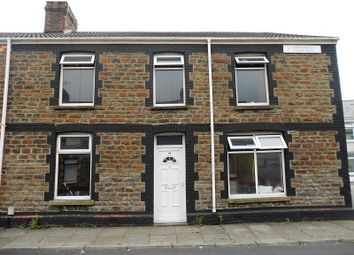 Thumbnail 4 bedroom end terrace house for sale in John Street, Aberavon, Port Talbot, Neath Port Talbot.