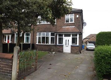 Thumbnail 4 bedroom semi-detached house for sale in Urmston Lane, Stretford, Manchester, Greater Manchester