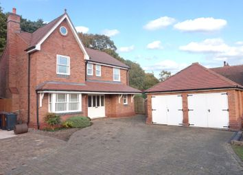 Thumbnail 4 bed detached house for sale in Lichfield Road, Hopwas