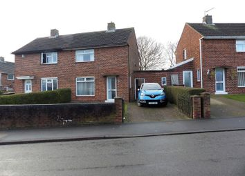 Thumbnail 2 bed semi-detached house for sale in Laughton Way North, Lincoln