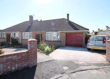 Thumbnail 2 bedroom semi-detached bungalow for sale in Woodland Road, Plympton, Plymouth