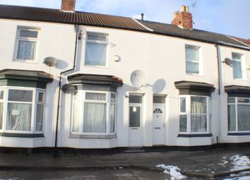 Thumbnail 2 bed terraced house for sale in 8 Wylam Street, Middlesbrough, Cleveland