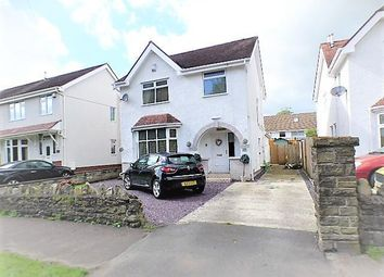 Thumbnail 3 bed detached house for sale in Clydach Road, Ynysforgan, Swansea