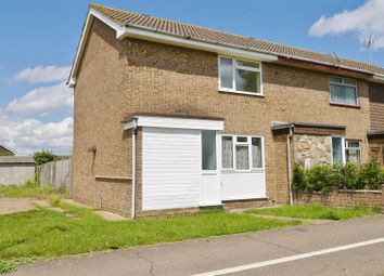Thumbnail 2 bed end terrace house to rent in Lakeside Path, Canvey Island
