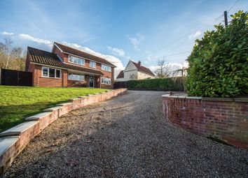 Thumbnail 3 bed detached house for sale in Church Street, Wetheringsett, Stowmarket, Suffolk