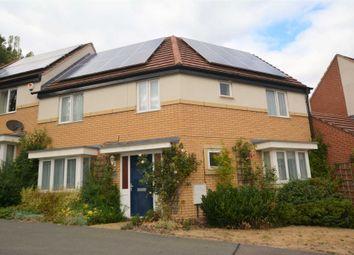 Thumbnail 4 bed semi-detached house to rent in Sakura Walk, Willen Park, Milton Keynes