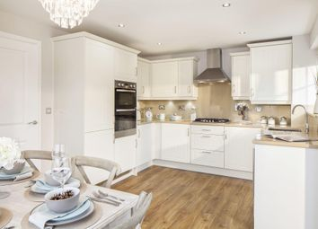 "Thumbnail 3 bedroom detached house for sale in ""Morpeth"" at High Street, Watchfield, Swindon"