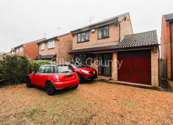 Thumbnail 3 bed detached house for sale in Augusta Close, Parnwell, Peterborough
