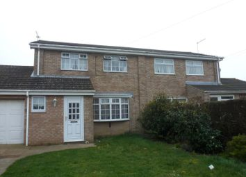 Thumbnail 3 bedroom property to rent in Lavenham Way, Lowestoft