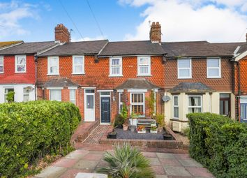 Thumbnail 3 bed terraced house for sale in Whitley Road, Eastbourne