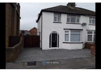 Thumbnail 3 bed semi-detached house to rent in Vincent Road, Sittingbourne