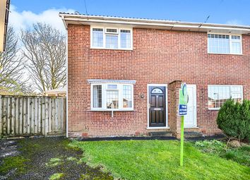 Thumbnail 2 bed semi-detached house for sale in Raven Avenue, Tibshelf, Alfreton