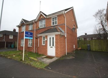 Thumbnail 3 bedroom semi-detached house for sale in Melland Road, Manchester