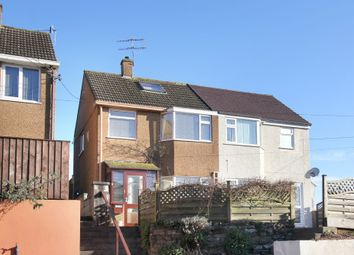 Thumbnail 3 bed semi-detached house for sale in Doreena Road, Elburton, Plymouth