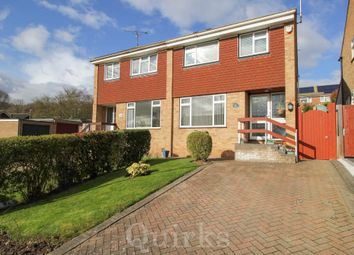 Thumbnail 3 bed semi-detached house for sale in Nuthatch Close, Billericay