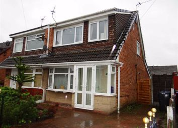 Thumbnail 3 bed semi-detached house for sale in Stanley Drive, Leigh, Lancashire