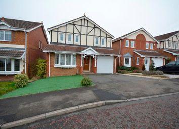 Thumbnail 4 bed detached house for sale in Hedley Court, Bearpark, Durham