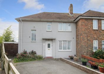 Thumbnail 4 bed semi-detached house for sale in Meadow Close, Southwick, Brighton