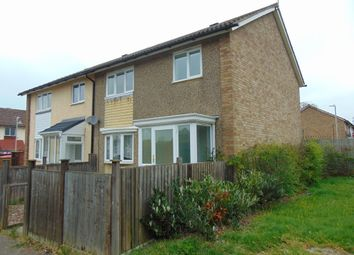 Thumbnail 3 bed semi-detached house to rent in Crundale Close, Ashford