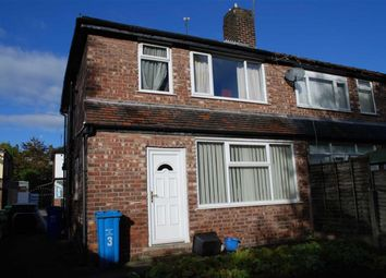 Thumbnail 3 bed semi-detached house for sale in Carr Bank Avenue, Manchester, Lancs