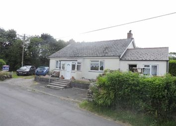 Thumbnail 4 bedroom detached bungalow for sale in Mynachlogddu, Clynderwen, Pembrokeshire