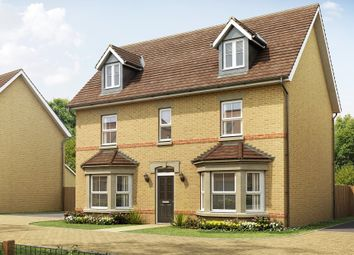 "Thumbnail 5 bed detached house for sale in ""Stratford"" at Station Road, Longstanton, Cambridge"